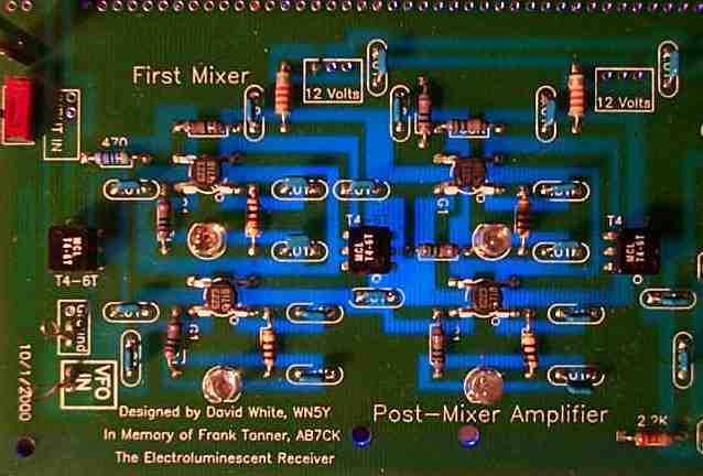 First Mixer and Amplifier