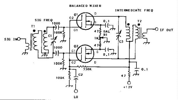 original single balanced mixer